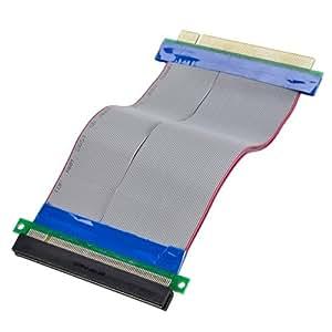 Adaptare 40113 PCI-Express - Alargador para cable plano (para conmutador de 16 conectores, 0,15 m)
