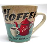 Martin Wiscombe Stoneware Hot Coffee Mug, Assorted