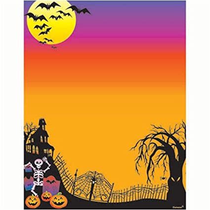picture relating to Printable Halloween Paper named : Halloween Printable Laptop Papers Occasion