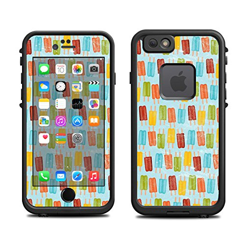Skin for Lifeproof iPhone 6 Case (skins/decals only) - Popsicles on pastel, icees, summer