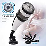 GT Male Automatic Pīston Cup Suckīng Voice Interaction and Telescopic Rotation Electronic Massage Cup Male's Toy