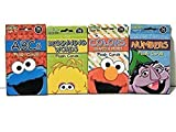 Sesame Street Educational Flash Cards for Early Learning. Set includes Colors, Shapes & More, ABCs, Numbers and Beginning Words