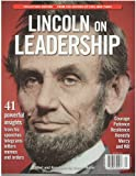 img - for Lincoln on Leadership Magazine Winter 2013 book / textbook / text book