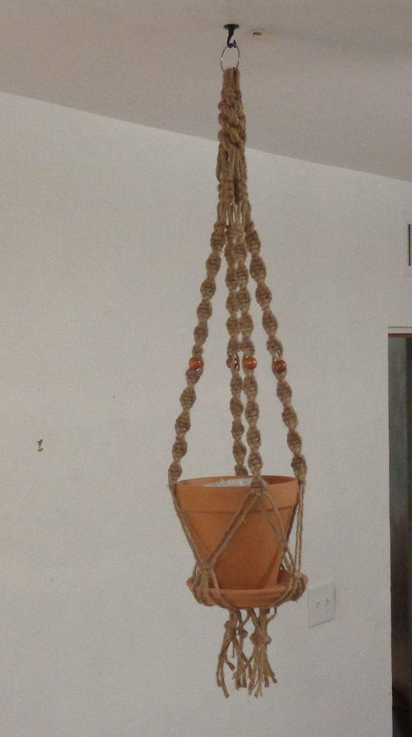 Macrame Plant Hanger - Round-A-Bout