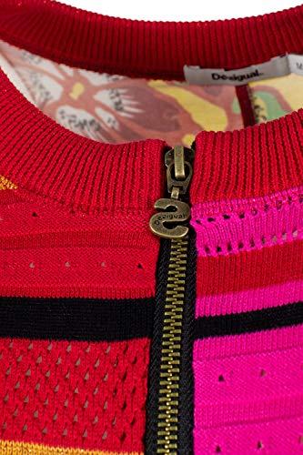 Pull Femme Tokio 19swjf57 Jers Fuchsia Desigual qxATUdqw