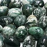 Moss Agate Crystal Egg ~48mm