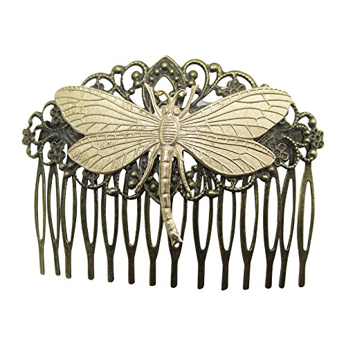 Dragonfly Hair Comb Decorative hair combs Wedding Hair Accessories Dragonfly Hair jewelry