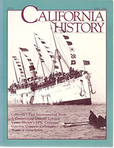 California History Magazine Fall 1984