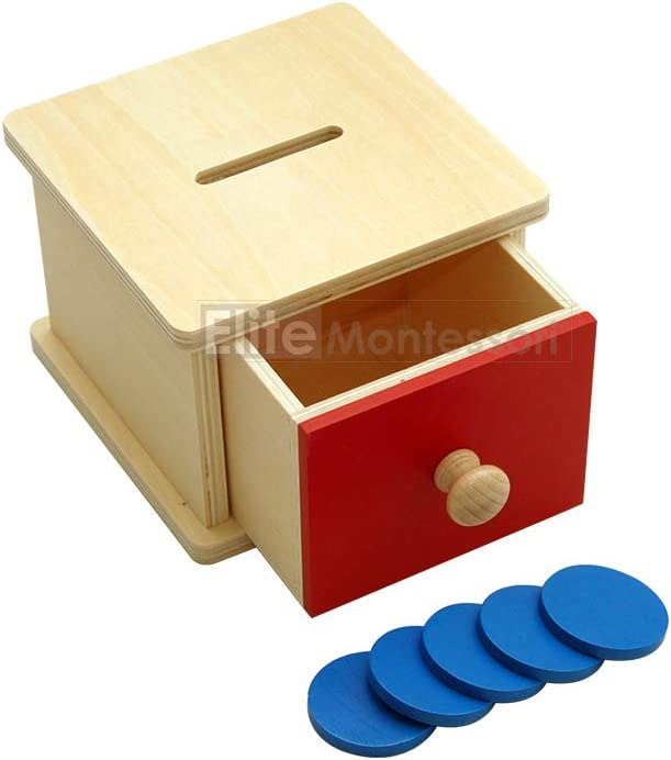 Elite Montessori Coin Box Preschool Learning Material