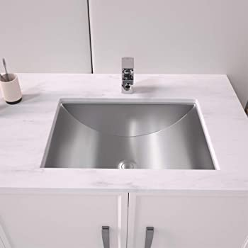 Lordear Bathroom Vessel Farmhouse Sink