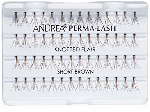 - Andrea Permalash Individual Lashes - Flair Short Brown, 56-Count (Pack of 4)