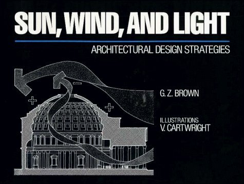 Sun, Wind, and Light: Architectural Design Strategies , Professional Ed. by G. Z. Brown (1985-03-26) (Wind Sun Light)