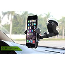Universal Mobile Car Phone Holder 360 Degree Adjustable Window Windshield Dashboard Holder Stand For iPhone 7/8 Phone GPS Holders