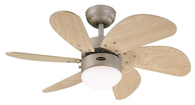 Westinghouse turbo swirl ventilatore da soffitto: amazon.it: casa