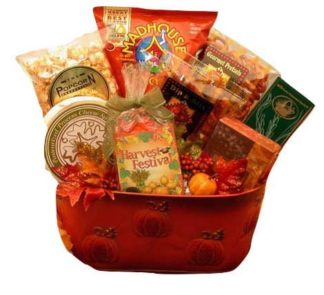 Fall Harvest Snacking Gift - Themed Snacks Halloween