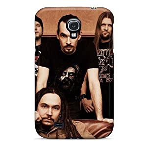 Protective Cell-phone Hard Covers For Samsung Galaxy S4 (Gmi19543voHF) Customized Vivid Amorphis Band Skin