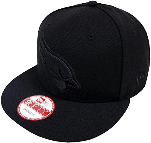 New Era Black On Black Snapback Cap 9fifty – DiZiSports Store