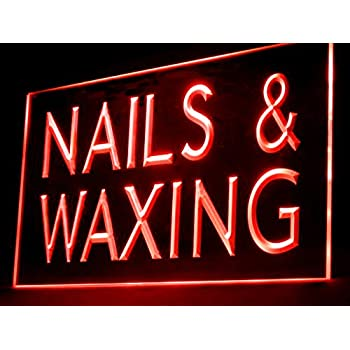 CHENXI Oval Nails&Spa Beauty Business Store Neon Signs 48X25 ...