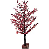Hi-Line Gift Ltd. 39020-RD 102-Inch high LED Indoor/ outdoor Lighted Trees with 624 LEDS, Red