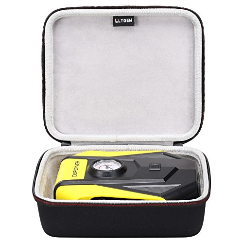 LTGEM Carrying Case for DBPOWER 12V DC Portable Electric Auto Air Compressor Pump by LTGEM