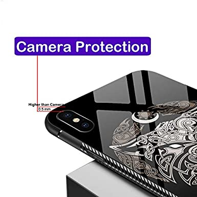 Amazon com: iPhone XR Case,iPhone XR Cases Tempered Glass