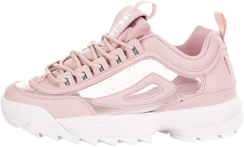 Fila Womens Disruptor II Clear Pink
