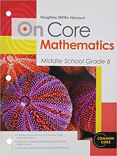Math Worksheets houghton mifflin math worksheets grade 5 : Houghton Mifflin Harcourt On Core Mathematics: Student Worktext ...