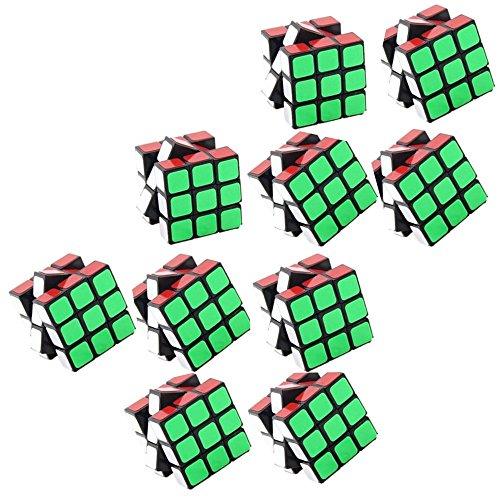 pelddy Mini Cubes Party Favors Cube Puzzle (10 Pack) ()