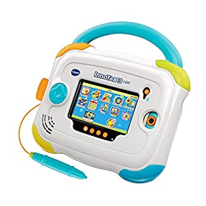 VTech InnoTab 3 Baby Kids Learning Tablet, 4.3-Inch Color Touchscreen, and 2GB Memory, 80147900, Blue (Certified Refurbished)