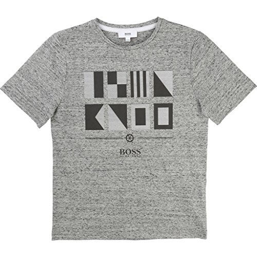 Price comparison product image Hugo Boss Kids Boys T-Shirt Short Sleeve 6 Years