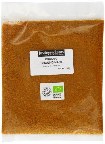 JustIngredients Organic Ground Mace Loose 100 g by JustIngredients