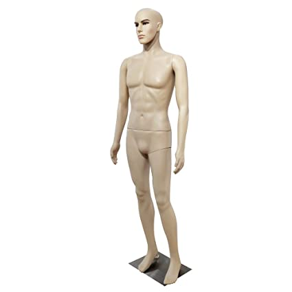 Amazon Com Soogo Male Mannequin Straight Hand Straight Foot Full