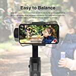 MOZA Mini-S Essential Foldable Gimbal stabilizer for Smartphone Timelapse Object Tracking Zoom Vertigo Inception 3-Axis Video Stabilizer for iPhone Xs/Max/Xr/X/11 Pro Max Samsung Note 9/S9 Huawei 7