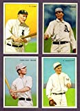 1912 T227 Series of Champions Reprint Set w/ Honest Long Cut Back Includes Ty Cobb, Home Run Baker, Chief Bender, Rube Marquard**
