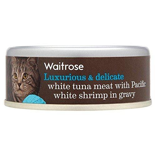 indulgent-recipe-tuna-white-meat-with-tiger-shrimp-in-gravy-waitrose-80g-pack-of-2