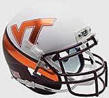 Schutt NCAA Virginia Tech Hokies Mini Authentic XP Football Helmet, Wedge Alt. 8, Mini