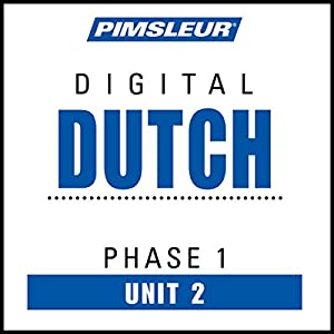 Dutch Phase 1, Unit 02 Audiobook