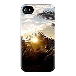 Fashion Tpu Case For Iphone 4/4s- Sunset Beautiful Defender Case Cover