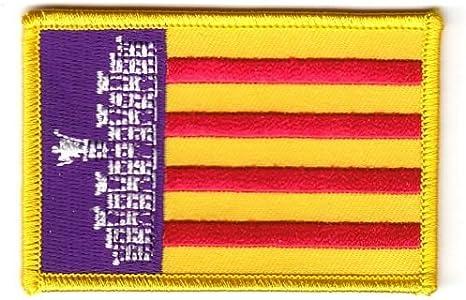 Parche de la bandera de España - Mallorca banderad: Amazon.es: Deportes y aire libre