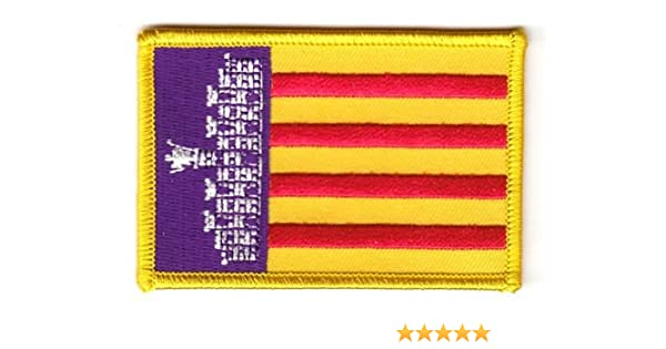 Parche de la bandera de España - Mallorca banderad: Amazon.es ...