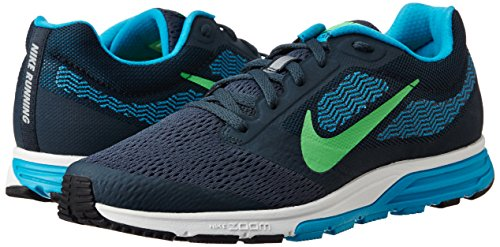 2a3bccccc4d Nike Men's Air Zoom Fly 2 Classic Charcoal, Poison Green, Blue ...