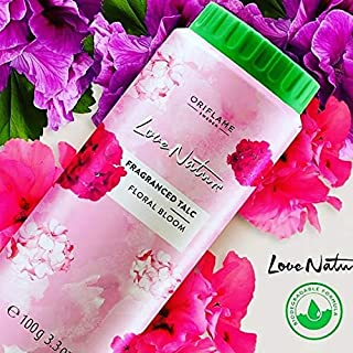 Oriflame Love Nature Fragranced Talc Floral Bloom 100g (Pack Of 2)