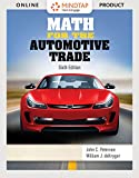 MindTap Applied Math for Peterson/deKryger's Math for the Automotive Trade, 6th Edition