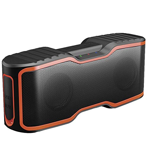 AOMAIS Sport II Portable Wireless Bluetooth Speakers 4.0 Waterproof IPX7, 20W Bass Sound, Stereo Pairing, Durable Design Backyard, Outdoors, Travel, Pool, Home Party (Upgraded)