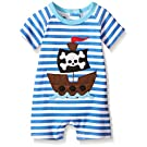 Mud Pie Baby Boys' Pirate One Piece