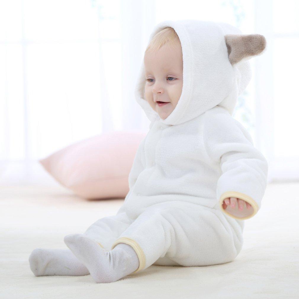 COOKY.D B/éb/é Filles Gar/çons Grenouill/ères Enfant Pyjama Combinaison 0-24 Mois