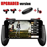 Mobile Game Controller [Upgrade Version] - WeeDee Fortnite PUBG Mobile Controller with Gaming Trigger,Gaming Grip and Gaming Joysticks for 4.5-6.5inch Android iOS Phones