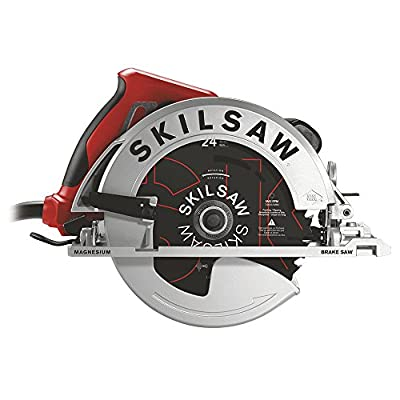 "SKILSAW SPT67WMB-01 Magnesium 15 Amp Sidewinder Circular Saw with Brake, 7.25"""