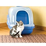 Drymate Ex Large Cat Litter Box Mat with Paw Imprint Design, 28-Inch by 36-Inch, Tan, My Pet Supplies