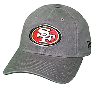 New Era San Francisco 49ers NFL 9Twenty Core Classic Graphite Adjustable Hat from New Era